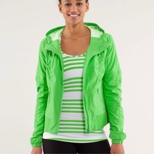LuluLemon Lime Green Jacket